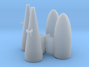 KC-130 Refueling Pod x2 in Smooth Fine Detail Plastic: 1:72
