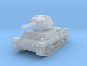 P-40 Heavy Tank 1/285 in Smooth Fine Detail Plastic