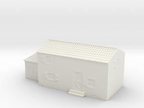 Italian style house 1/200 in White Natural Versatile Plastic