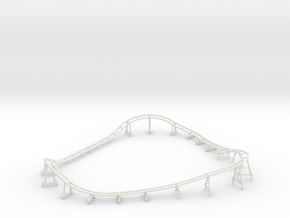 Go Gator Track in White Natural Versatile Plastic
