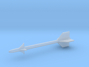 1:24 Miniature AIM-9 Sidewinder Missile in Smooth Fine Detail Plastic: 1:24