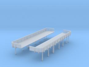 1/192 USN midship 1st deck 20mm x5 tub Set in Smooth Fine Detail Plastic