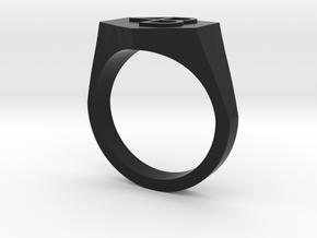 4B embossed-10US in Black Premium Versatile Plastic