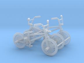Set of 3 - BMX Bike in Smooth Fine Detail Plastic