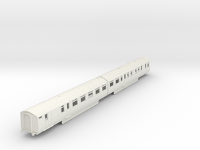 b-87-lner-coronation-twin-rest-3rd-brake in White Natural Versatile Plastic