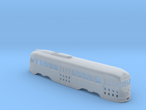 N Scale Prewar PCC TTC Body #2 in Smoothest Fine Detail Plastic