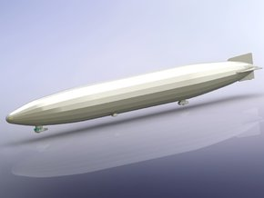 German Zeppelin L59 (LZ104) 1/1250 in Smooth Fine Detail Plastic