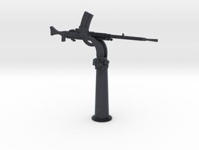 1/35 IJN Type 93 13mm Single Mount AA Gun in Black PA12