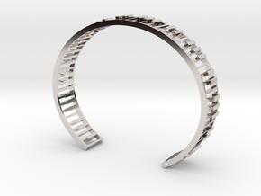 Piano Bracelet in Platinum: Small