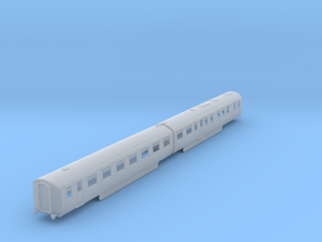 b-148fs-lner-coronation-twin-rest-open-3rd in Smooth Fine Detail Plastic