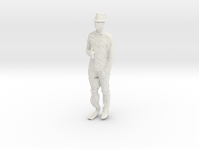 Printle C Homme 519 - 1/18 - wob in White Natural Versatile Plastic