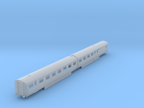 b-148fs-lner-coronation-twin-open-3rd-brake in Smooth Fine Detail Plastic