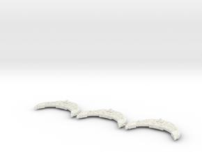 Incursor clase Chacal  in White Natural Versatile Plastic