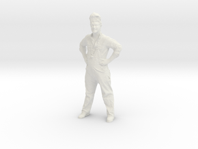 J-Wall of Print That Thing - Photogrammetry Scan in White Natural Versatile Plastic