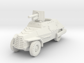 Marmon Herrington mk2 (47mm gun) 1/100 in White Natural Versatile Plastic