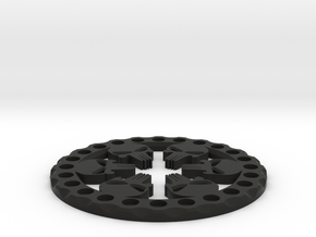 1.9 Vanquish Punisher beadlock ring in Black Natural Versatile Plastic