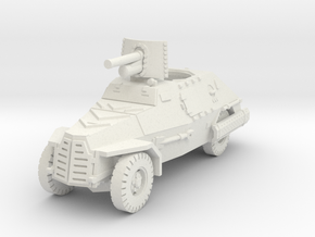 Marmon Herrington mk2 (47mm gun) 1/56 in White Natural Versatile Plastic