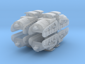 6US Tankette 6mm x8 in Smooth Fine Detail Plastic