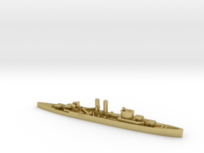HMS Surrey 1:3000 WW2 proposed cruiser in Natural Brass