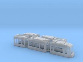 Rhein-Neckar-Variobahn RNV6ZR in Smooth Fine Detail Plastic: 1:120 - TT