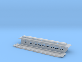 BCo1 modell 93 - Swedish passenger wagon in Smooth Fine Detail Plastic