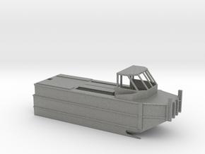 1/87 Scale Army Bridge Erection Boat in Gray PA12