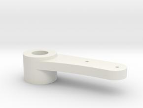 AYK Radiant servo saver arm RZ-18 in White Natural Versatile Plastic