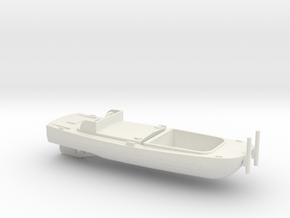 1/100 Scale Army Bridge Erection Boat 1952 in White Natural Versatile Plastic