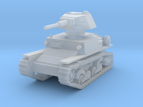 L6 40 Light tank 1/200 in Smooth Fine Detail Plastic