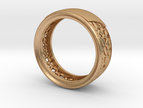 Weding band woman in Natural Bronze