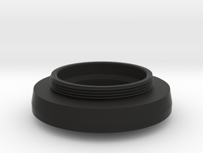 HEXANON 1:2 f=48mm KONISHIROKU lens adapter in Black Natural Versatile Plastic