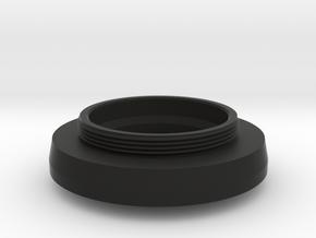 HEXANON 1:2 f=48mm KONISHIROKU lens adapter in Black Natural Versatile Plastic