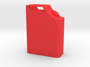 Gas/Petrol Can in Red Processed Versatile Plastic