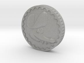 Crocodile Dubloon (A+B) in Aluminum