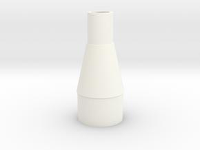 Classic estes-style transition TA-550 in White Processed Versatile Plastic