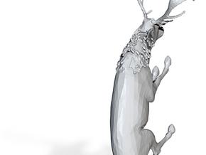 S Scale Grazing Deer in Gray PA12