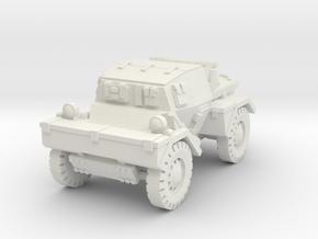 Daimler Dingo mk1 (closed) 1/76 in White Natural Versatile Plastic