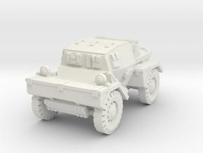 Daimler Dingo mk1 (closed) 1/56 in White Natural Versatile Plastic