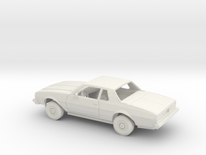 1/25 1977-78 Chevrolet Impala Coupe Kit in White Natural Versatile Plastic