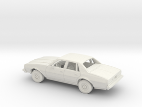 1/25 1977-78 Chevrolet Impala Sedan Kit in White Natural Versatile Plastic
