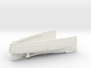 1/350 1919 US Small Battleship Design A7 Stern in White Natural Versatile Plastic