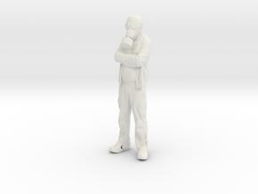 Printle V Homme 604 - 1/20 - wob in White Natural Versatile Plastic
