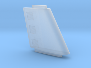1/1000 Upper Sail/Engine Mount-tabbed in Smooth Fine Detail Plastic