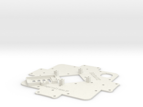 Upper Deck-X1 in White Natural Versatile Plastic