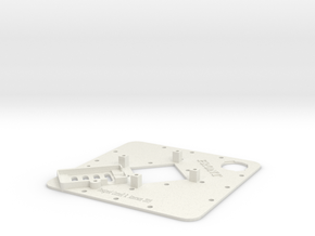 Upper Deck-X2 in White Natural Versatile Plastic