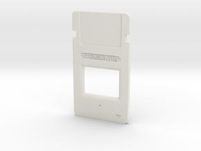 Resident Evil Microfilm in White Natural Versatile Plastic
