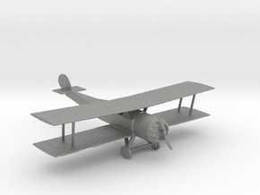 S Scale Biplane in Gray PA12