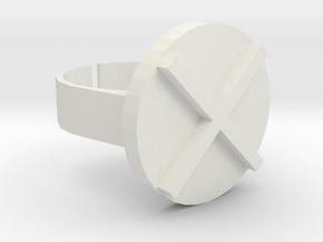 tiling ring in White Natural Versatile Plastic