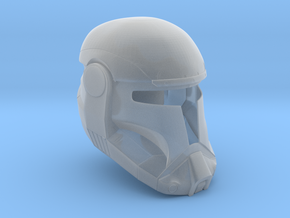 1/6th scale Republic Commando Helmet  in Smooth Fine Detail Plastic
