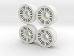 R2 MINI Z -FRONT C 195+05 in White Natural Versatile Plastic